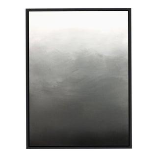 """""""Abstract Gray Ombré"""" Framed Giclée Print For Sale"""