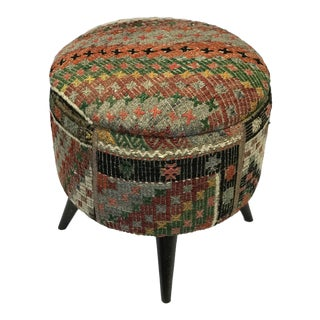 Modern Handcrafted Turkish Ottoman For Sale