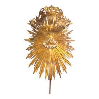 Antique Italian Sunburst For Sale