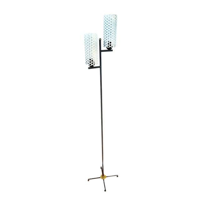 French Mid-Century Modern Floor Lamp For Sale