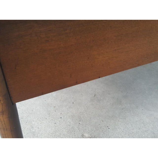 Bassett Mid-Century Modern Artisan End Tables - A Pair - Image 10 of 10