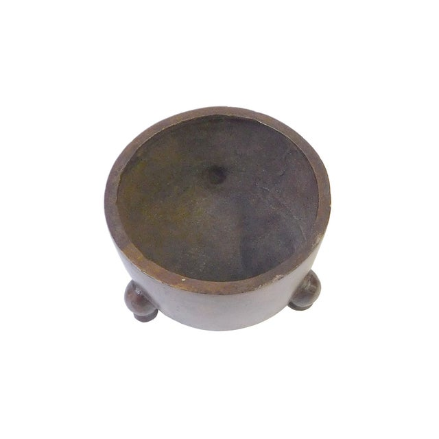 Chinese Bronze Metal Incense Burner - Image 2 of 4