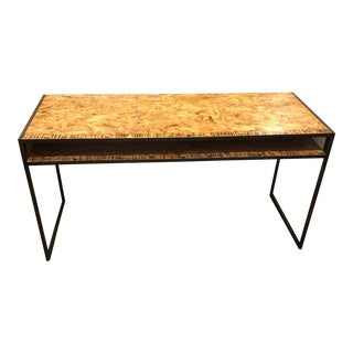 Contemporary Custom Industrial Metal Desk