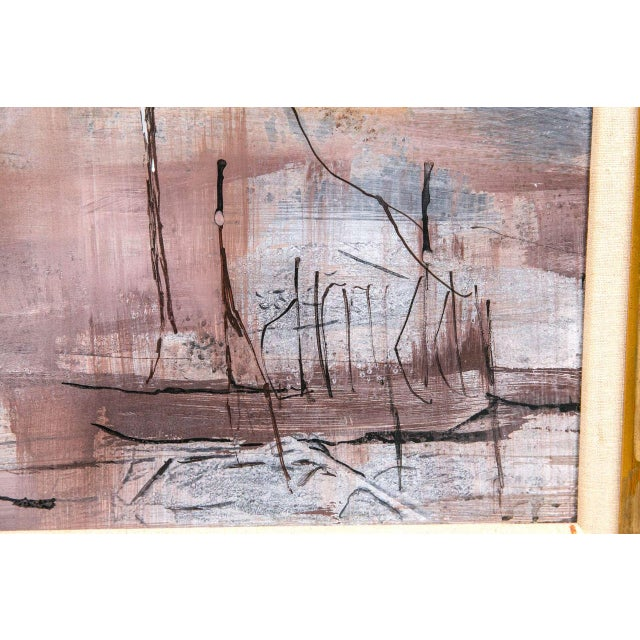 Abstract Expressionism 1960s Abstract Landscape Painting For Sale - Image 3 of 4