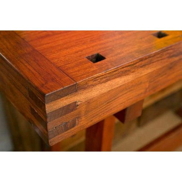 Rhodesian Teak Work Bench - Image 4 of 7