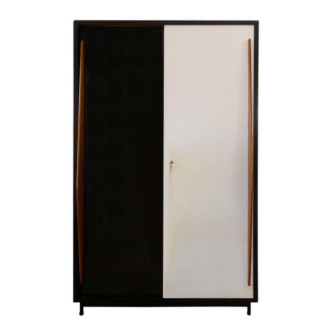 Large Cabinet by Willy Van Der Meeren for Tubax, 1950's Italy - Completely Restored For Sale