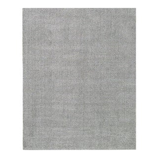 Artisan Crafted Silver Sage Rug - 9′ × 12′ For Sale