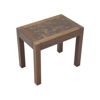 Dieter Waeckerlin Side or End Table in Wenger, Switzerland, 1960s For Sale