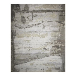 Transitional and Modern Rugs - Bunker Wall Rug (Lake - 8 X 10) For Sale