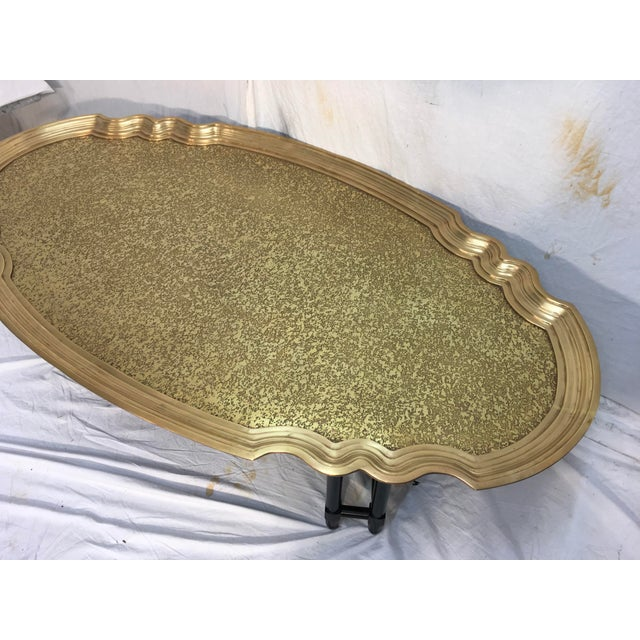Baker Furniture Brass Tray Table - Image 9 of 10