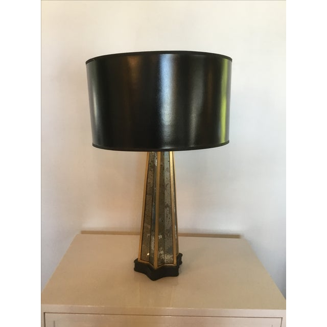 French Art Deco Style Table Lamp For Sale - Image 4 of 6