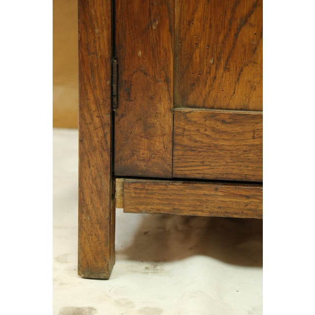 Antique American Two-Part Step Back Cupboard With Hutch For Sale - Image 12 of 13