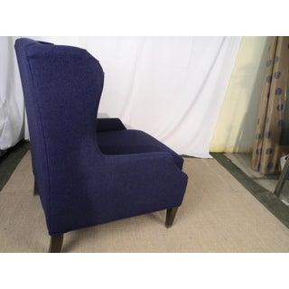 Modern Bassett 1190-02 Palmer Navy Blue Accent Chair Preview