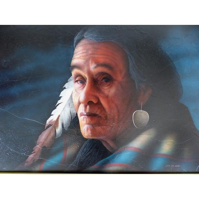 Southwestern Portrait by Jeff St. John - Image 2 of 9