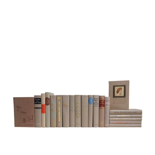 Mid-Century Modern Midcentury Mushroom MIX : Set of Twenty Decorative Books For Sale - Image 3 of 3