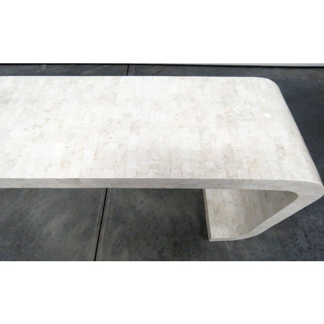 Mid-Century Modern Tessellated Console Table For Sale In Philadelphia - Image 6 of 10