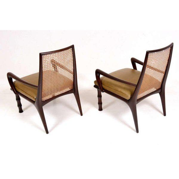 Mexican Modernist Lounge Chairs Attributed to Eugenio Escudero - Image 5 of 9