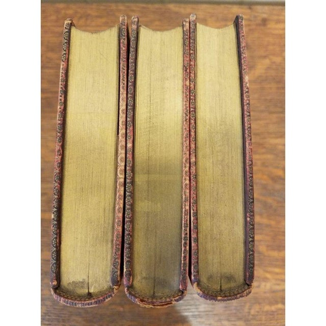 3 Leather Bound Volumes About Music. For Sale - Image 4 of 5