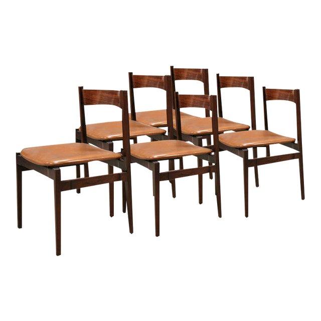 Six Gianfranco Frattini Chairs For Sale