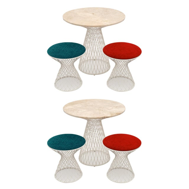 Patricia Urquiola Garden Tables and Stools - Two Sets of 3 (6 Pieces) For Sale - Image 10 of 10