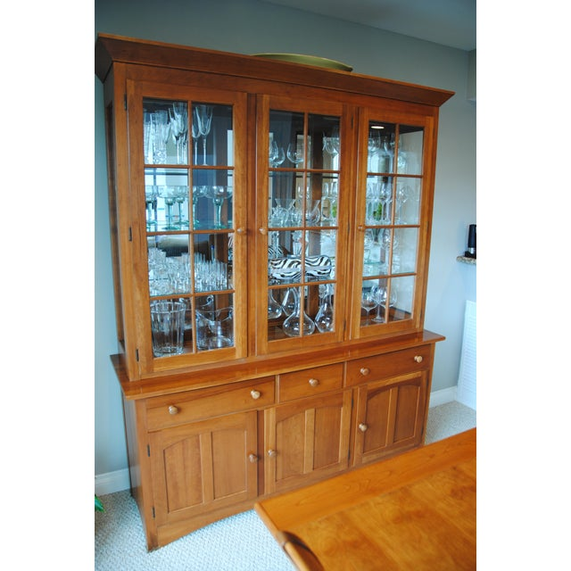 Pennsylvania House Shaker China Cabinet - Image 5 of 6