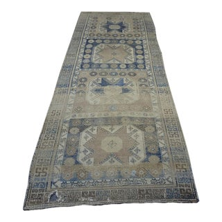 Vintage Turkish Runner - 3'6″x10'1″