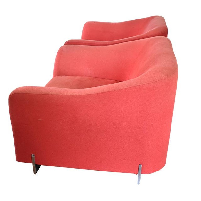 Late 20th Century Eric Jourdan for Ligne Roset Snowdonia Upholstered Armchairs - a Pair For Sale - Image 10 of 11