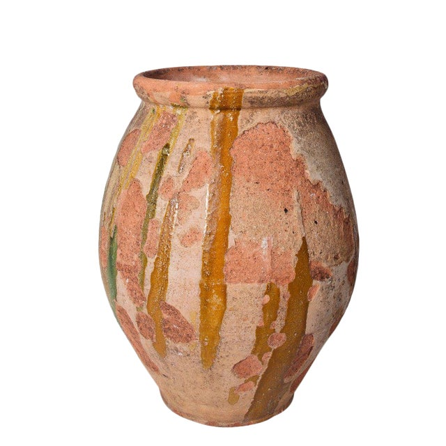 Mid 19th Large Confit Pot in Terra Cotta For Sale