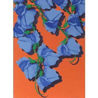 'Summer (Blue Corsage)' Serigraph