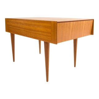 John Keal for Brown Saltman Coffee Table W/ Pull-Out Drawer For Sale