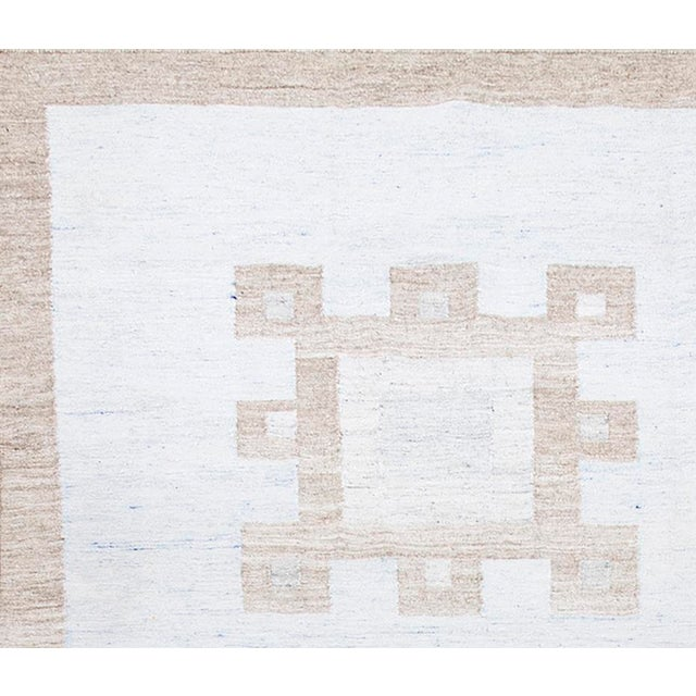 Contemporary Schumacher Patterson Flynn Martin Dimma Hand Woven Geometric Rug For Sale - Image 3 of 5