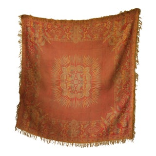 Antique Isalmic Prayer Rug Or Wall Hanging For Sale