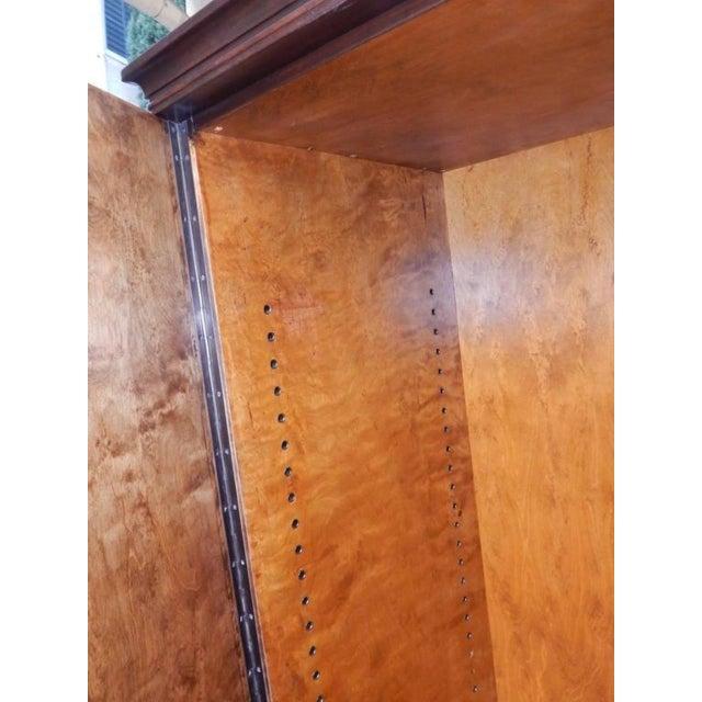 Wood Swedish Art Deco Inlaid Rosewood Storage For Sale - Image 7 of 9