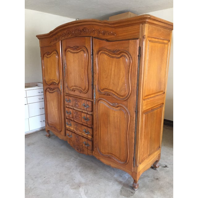 Antique French Wardrobe - Image 4 of 4