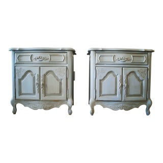 Stanley Furniture French Provincial Nightstands - A Pair