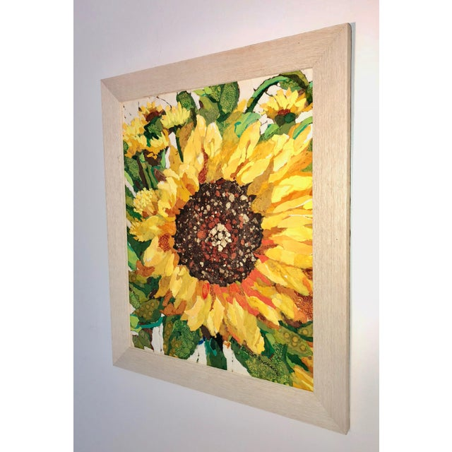 Sunflower Field I Collage For Sale - Image 4 of 6
