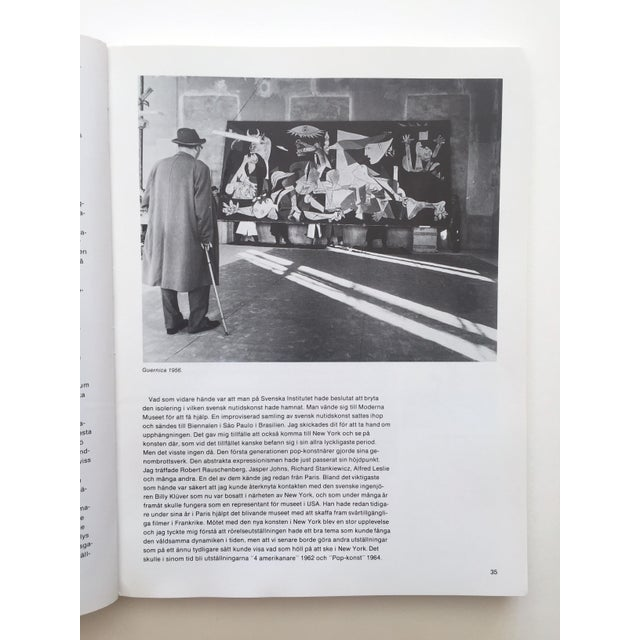 """"""" Moderna Museet Stockholm 1958 - 1983 """" Rare Vintage 1st Edition 25th Anniversary Collector's Modern Art Book For Sale In Kansas City - Image 6 of 13"""