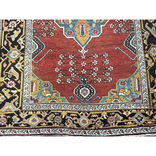 "Antique Caucasian Karabagh Rug - 4'8"" x 7'2"" - Image 2 of 5"