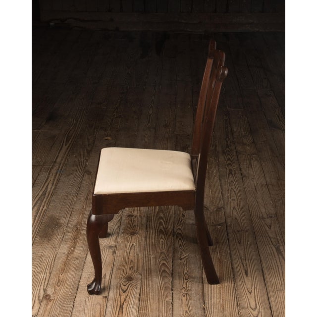 Traditional 1990s Vintage Madison Square Furniture Chippendale Style Mahogany Side Chair For Sale - Image 3 of 13