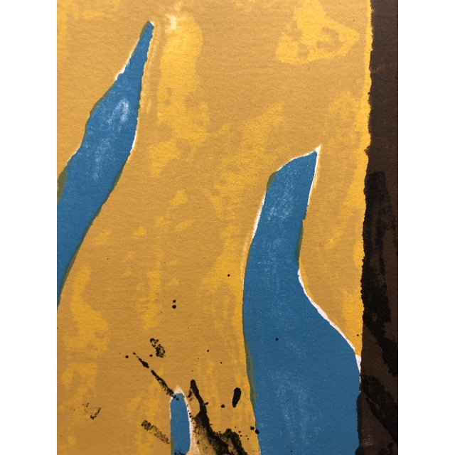 1966 Abstract Lithograph New York Artist For Sale In New York - Image 6 of 10