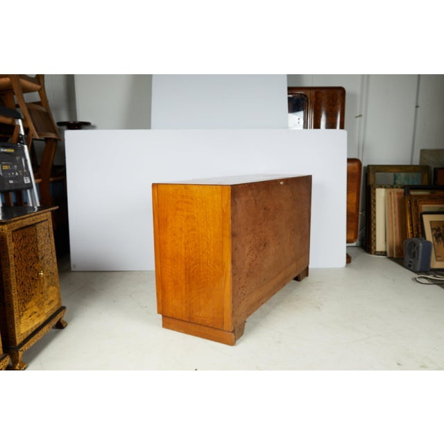1940s Midcentury English Oak Sideboard For Sale - Image 5 of 13