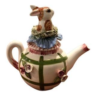 Paper Windows Usa Rabbit Teapot For Sale