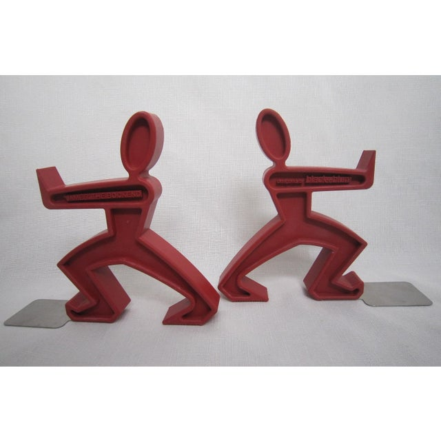 Keith Haring Style Bookends - A Pair - Image 3 of 4