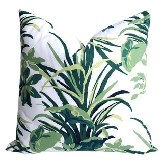 Dorothy Draper Style Bermuda Palm Pillow Cover