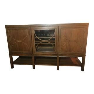 Custom Art Deco Stereo / TV Furnitured Encasement For Sale