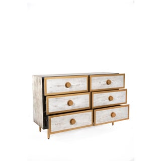 Contemporary St Tropez 6 Drawers Dresser Preview
