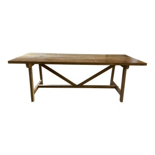 Clubcu French Reedition Farm Table For Sale