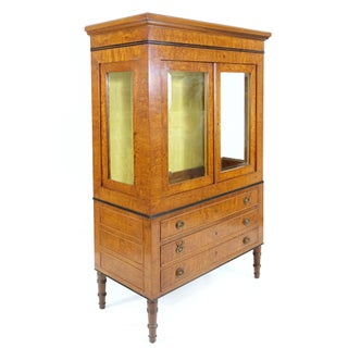 Neoclassical Style Vitrine on Chest From Rho Mobili D' Epoca of Italy Preview