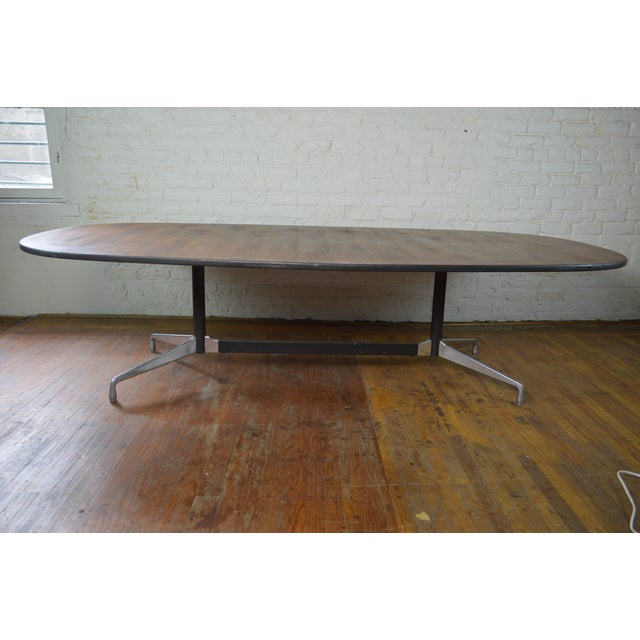 Mid-Century Modern Charles & Ray Eames for Herman Miller Aluminum Group Mid Century Modern Conference Table For Sale - Image 3 of 9