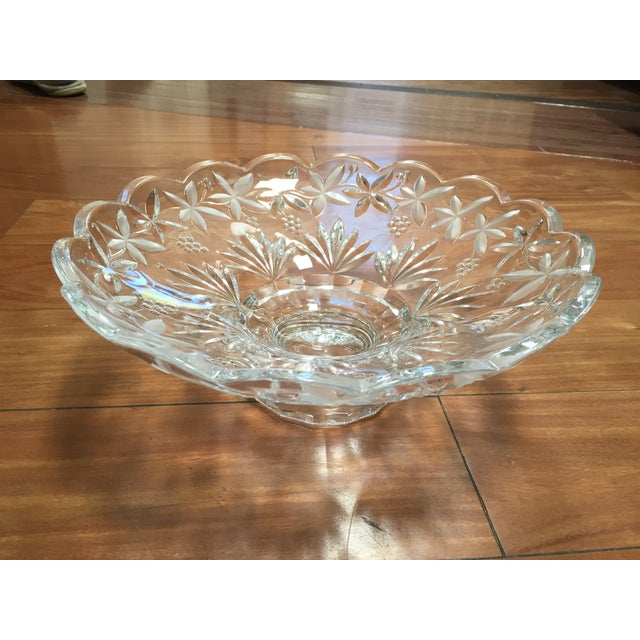 Crystal Centerpiece Bowl - Image 2 of 5